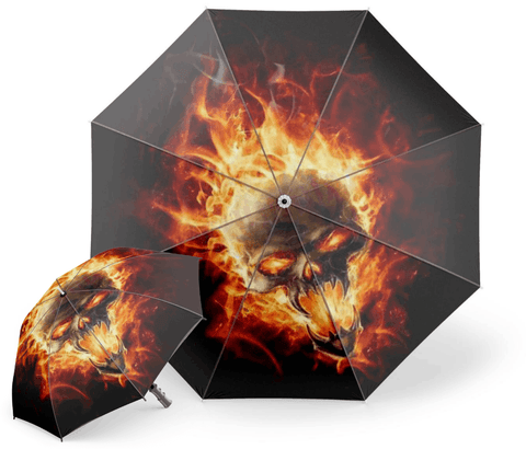 Flames Umbrella
