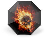 Flames Umbrella | Skull Action