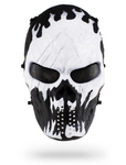 Flaming Skull Mask Cosplay