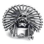 Freedom Or Death Skull Ring | Skull Action