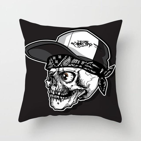 Gang Skull Pillow