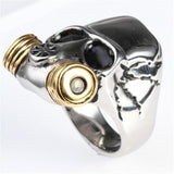 Gas Mask Ring | Skull Action