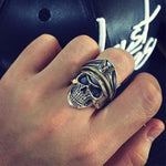 German SS Skull Ring | Skull Action