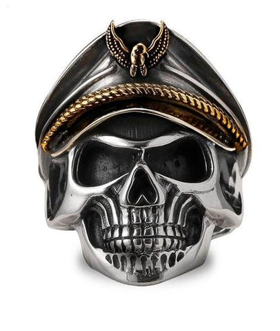 german ss skull ring