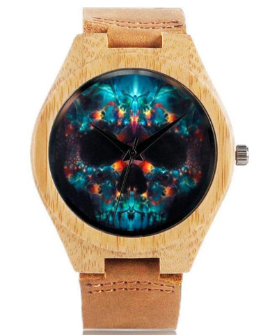 girls skull watch