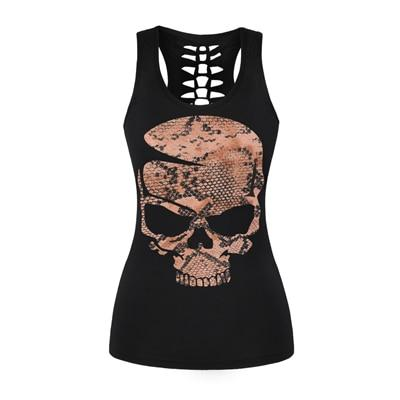 Girly Skull Tank Top