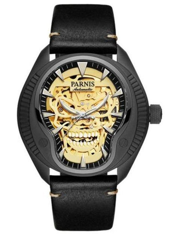 Gold Skull Watch | Skull Action
