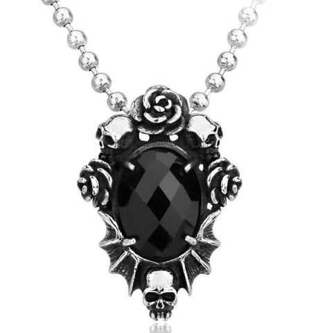 Goth Skull Necklace