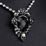 Goth Skull Necklace | Skull Action