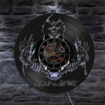 Grim Reaper And Clock | Skull Action