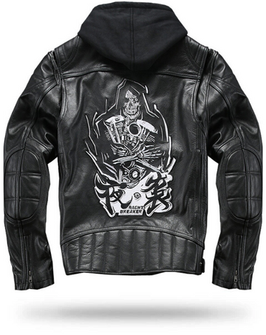 Grim Reaper Leather Jacket