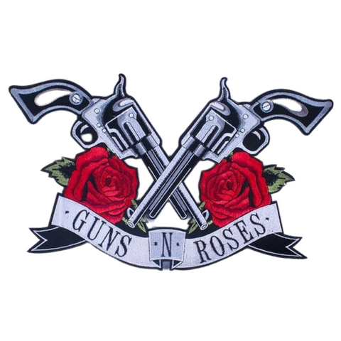 Guns And Roses Patch