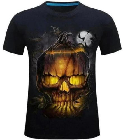Halloween Skull T-Shirt | Skull Action