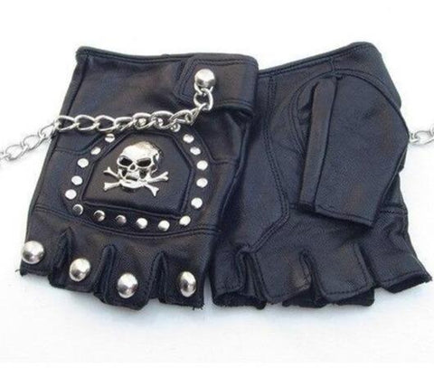 harley skull gloves