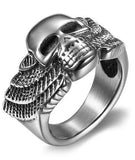 hells angels death head ring