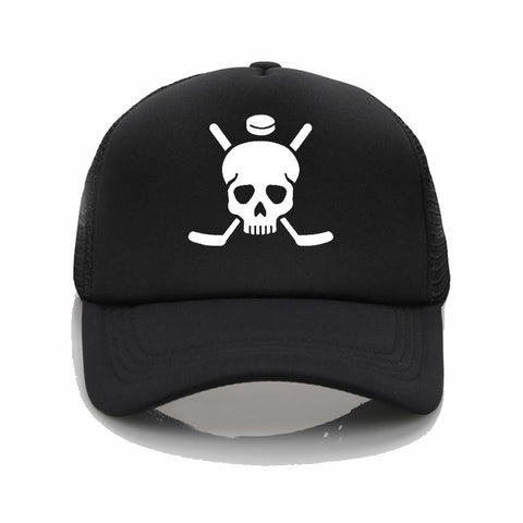 hockey skull cap