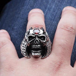 Huge Skull Ring | Skull Action