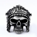 Indian Head Skull Ring | Skull Action