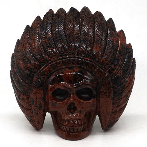Indian Skull Decor