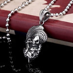 Indian Skull Necklace | Skull Action