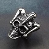 Joker Skull Ring | Skull Action