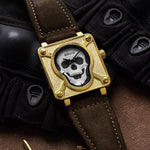 Ladies Skull Watch | Skull Action