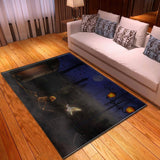 Large Halloween Rug | Skull Action