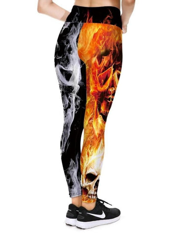 Leggings With Flames On Them