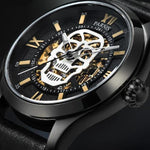 Luxury Skeleton Watch Mens | Skull Action