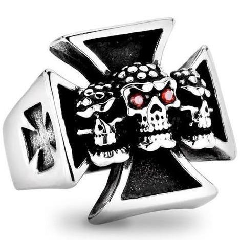 maltese cross signet ring