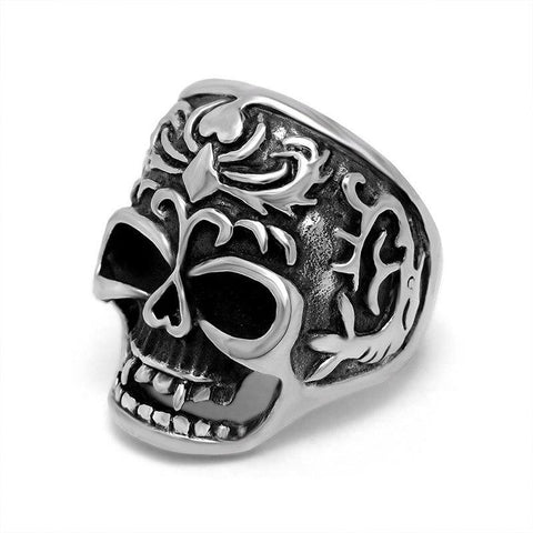 Mens Fashion Skull Ring