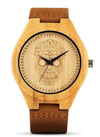 mexican skull watch