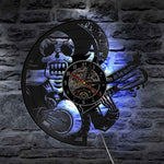 Mexican Style Wall Clocks | Skull Action