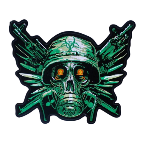 Military Skull Patch