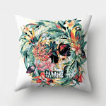 Nature Skull Pillow