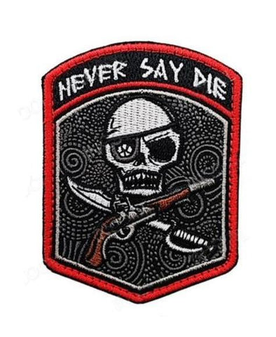 Never Say Die Patch