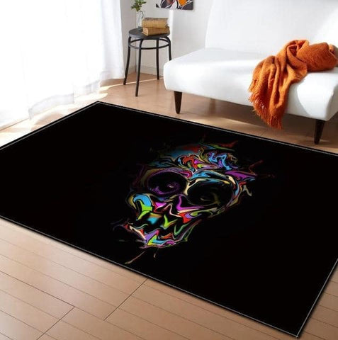 Painting Skull Carpet