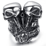 Panhead Ring | Skull Action