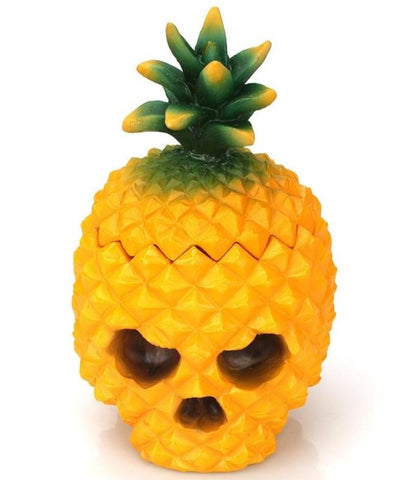 Pineapple Skull Decor