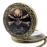 Pirate Pocket Watch | Skull Action