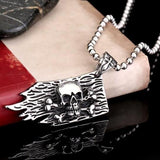 Pirate Skull And Crossbones Necklace | Skull Action