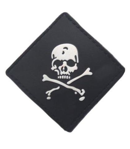 Pirate Skull And Crossbones Patch