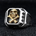 Pirate Skull Ring Men | Skull Action