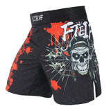 Fighting Skull Shorts