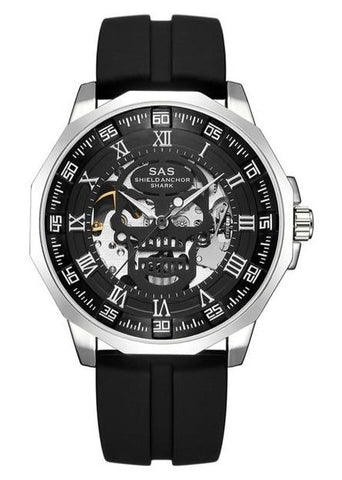 Skull Face Mens Watch