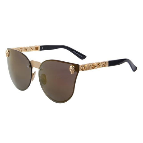 Sunglasses With Skulls On Side