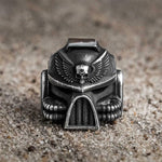 Dark Side Skull Ring