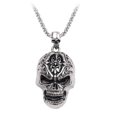 Skull Head Necklace Free Shipping