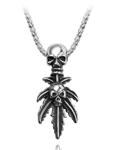 Native American Skull Necklace