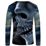 Huge Skull <br>  Long Sleeve Shirt